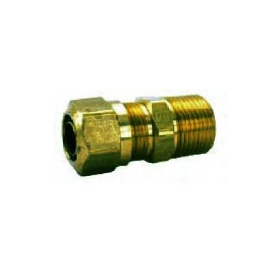 Rosca de tubo de união simples
