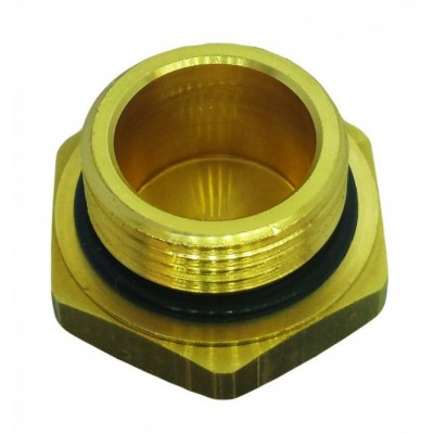 Brass Cap With O-Ring