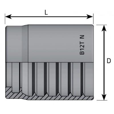 Bucha De Pressão UNIF (R1T-R2T)