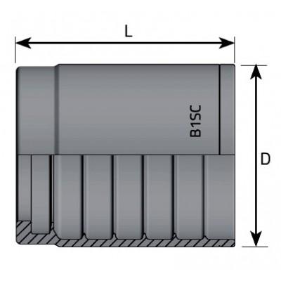 Casquillo Prensar UNIF (R1T-1SC-2SC)