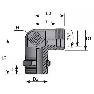 Metric - Adjustable BSPP...