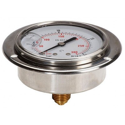 Rear Vacuum Gauge 63mm With...