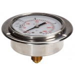 100mm stainless steel gauge...