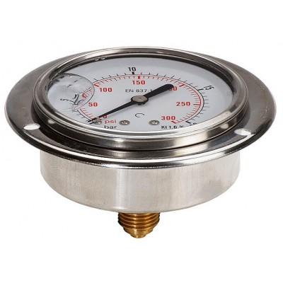 100mm stainless steel gauge...