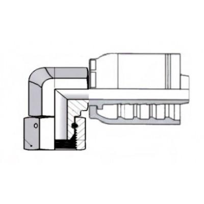 90º Elbow BSPP 60º Compact...
