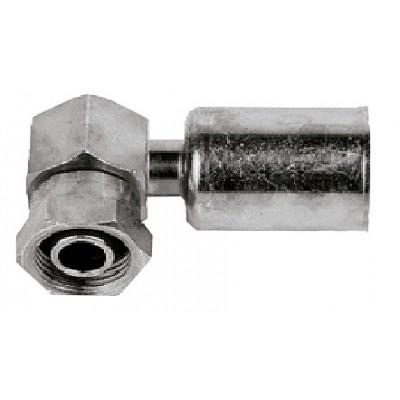 Block 90º O-ring elbow