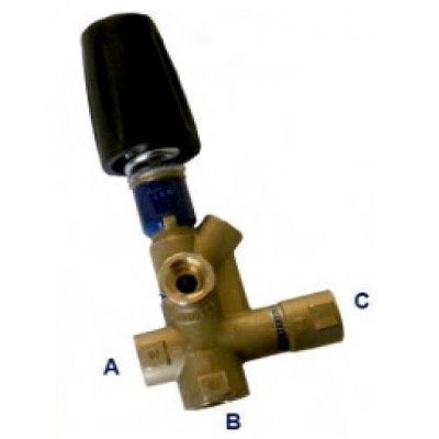 Regulating Valve With By-Pass