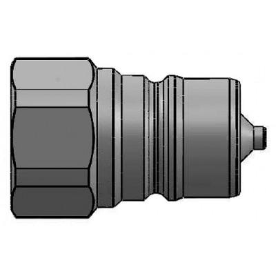Macho Enchufe Rápido Serie ISO-A Válvula