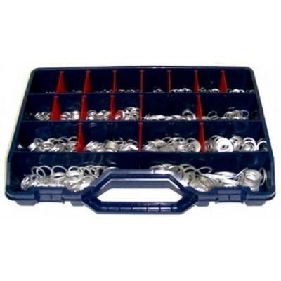 Surtido Arandelas Aluminio 100 Unidades