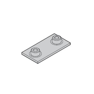 Placa Inferior Abrazadera Simple