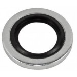 Metric bonded seal