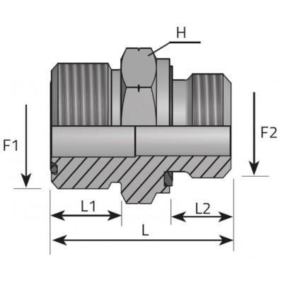 ORFS-Metric male union