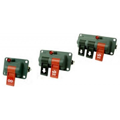 Panel mount valves
