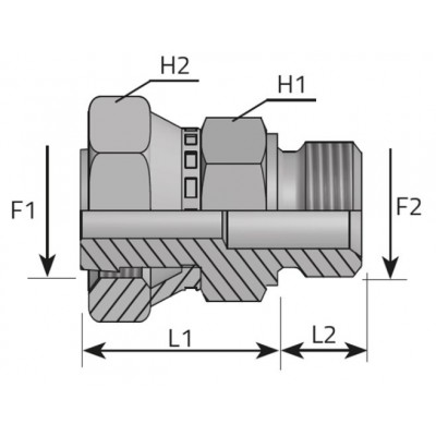 GAS Male Adapter - ORFS...