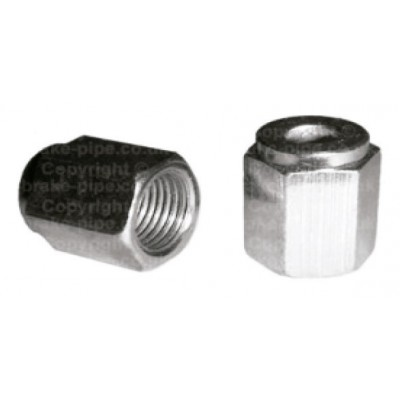 """FEMALE nuts for 1/4\"""" - 6mm"""