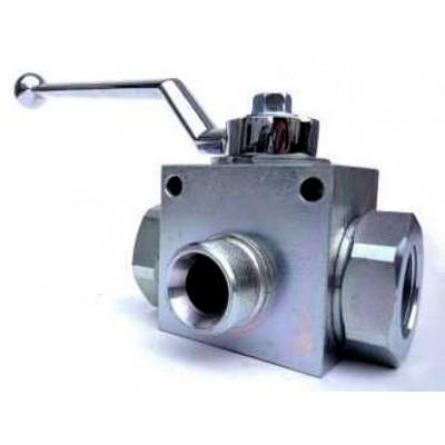 BSP 3 ways valve