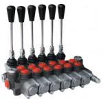 Hydraulic Distributor 6 Levers