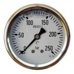63mm stainless steel gauge...