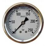 Medidor De 63 mm Com Glicerina