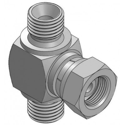 BSP GAS 60º male - swivel...