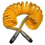 Espiral Semirremolque Poliuretano Amarilla